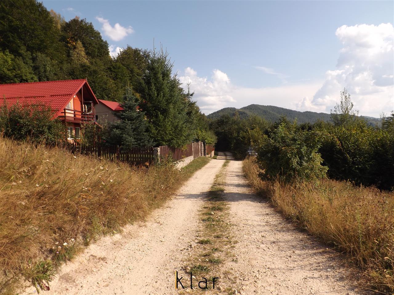 Teren intravilan pentru cabana,pensiune la Muntele Rece