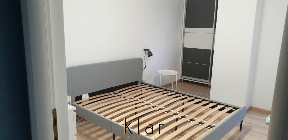 Aparatament 3 camere finisat mobilat bloc nou + loc parcare subteran