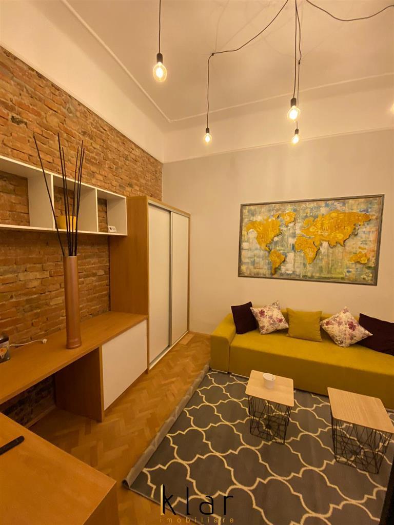 Apartament 1 camera Ultrafinisat Central