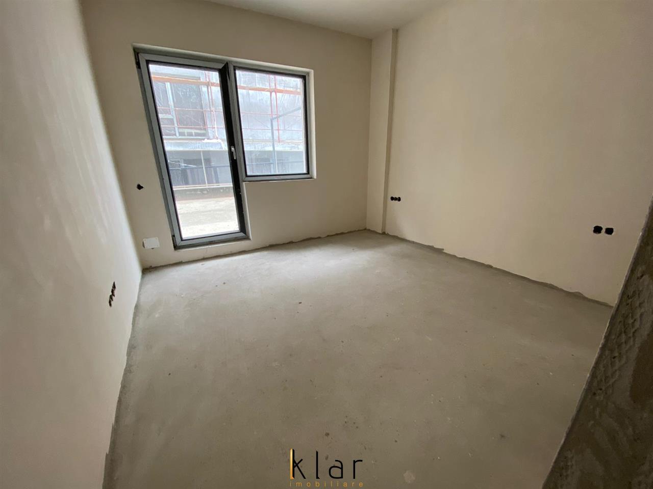 Apartament 3 camere, semifinisat, 2 bai, terasa, zona Donath Park!