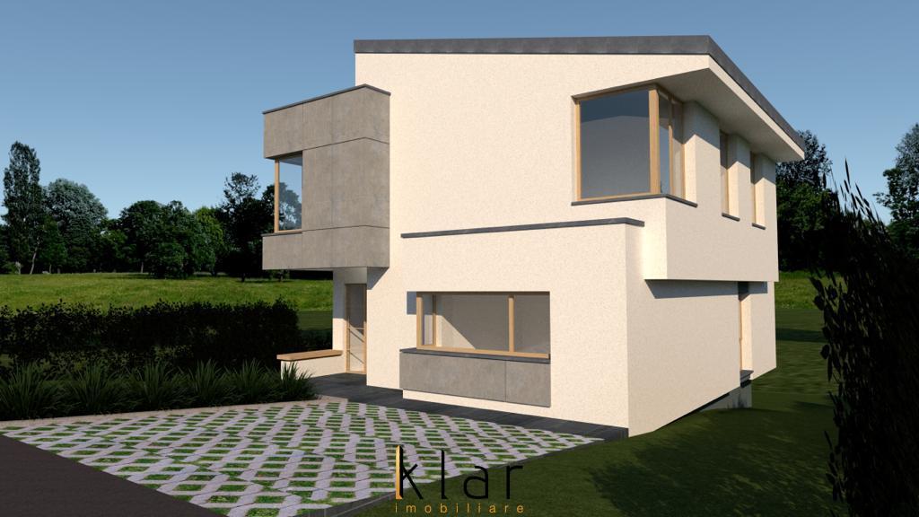Casa individuala P+E 146mp + 432mp de teren Valea Chintaului !!!