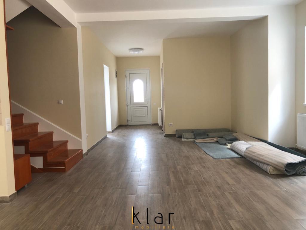 Duplex de vanzare finisat 130 mp, in Baciu! Schimb cu apartament in Cluj.