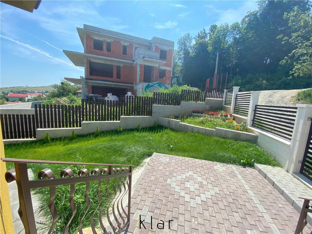 Casa individuala cu panorama spre Cluj