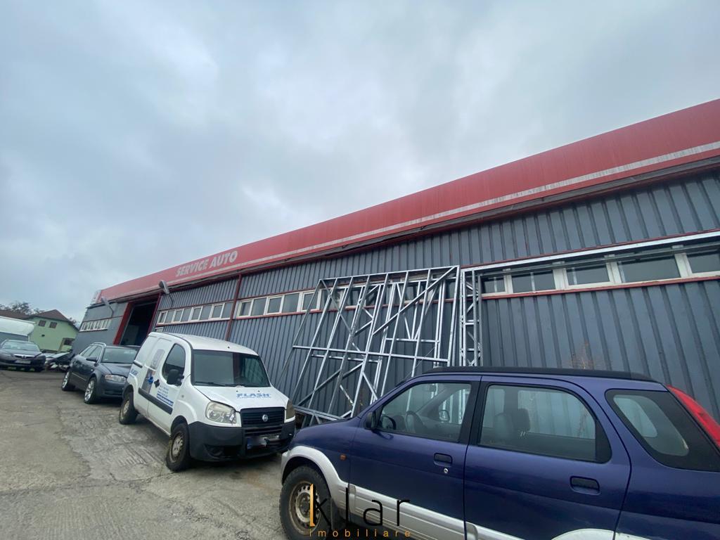 Vanzare SERVICE AUTO  cu hala si teren  2970 mp