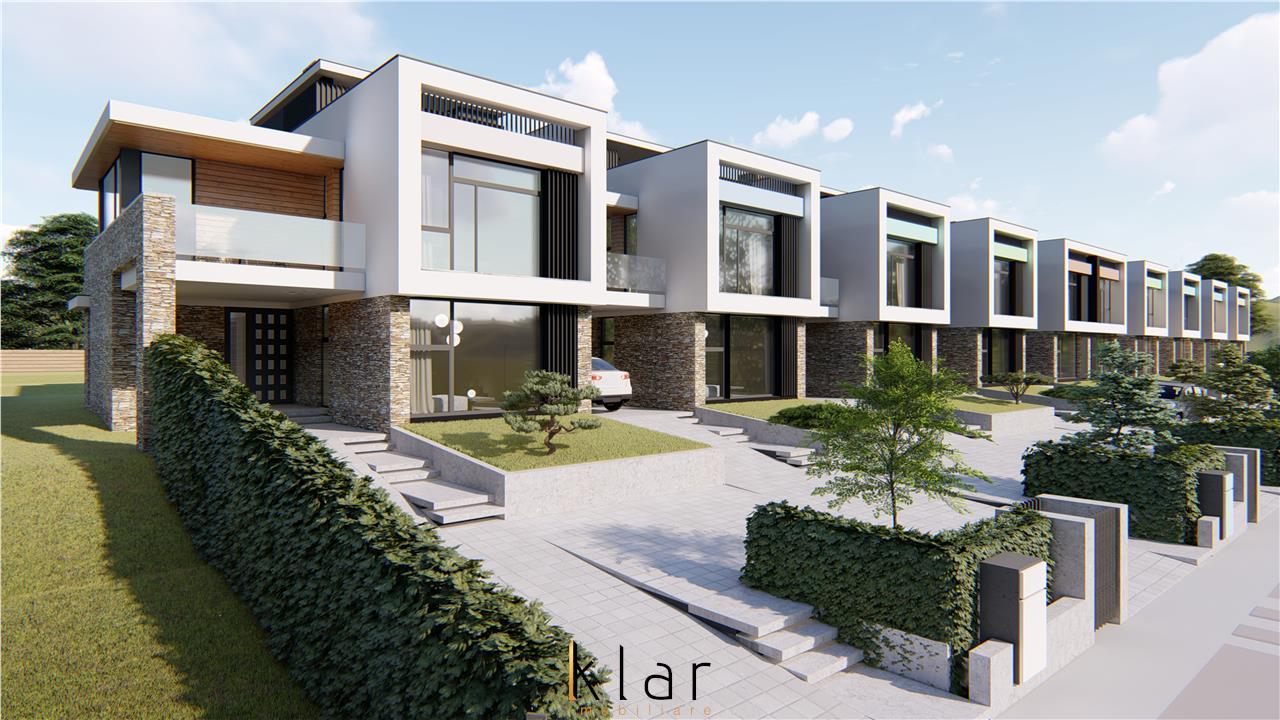 Casa de vis cu gradina si panorama spre Cluj