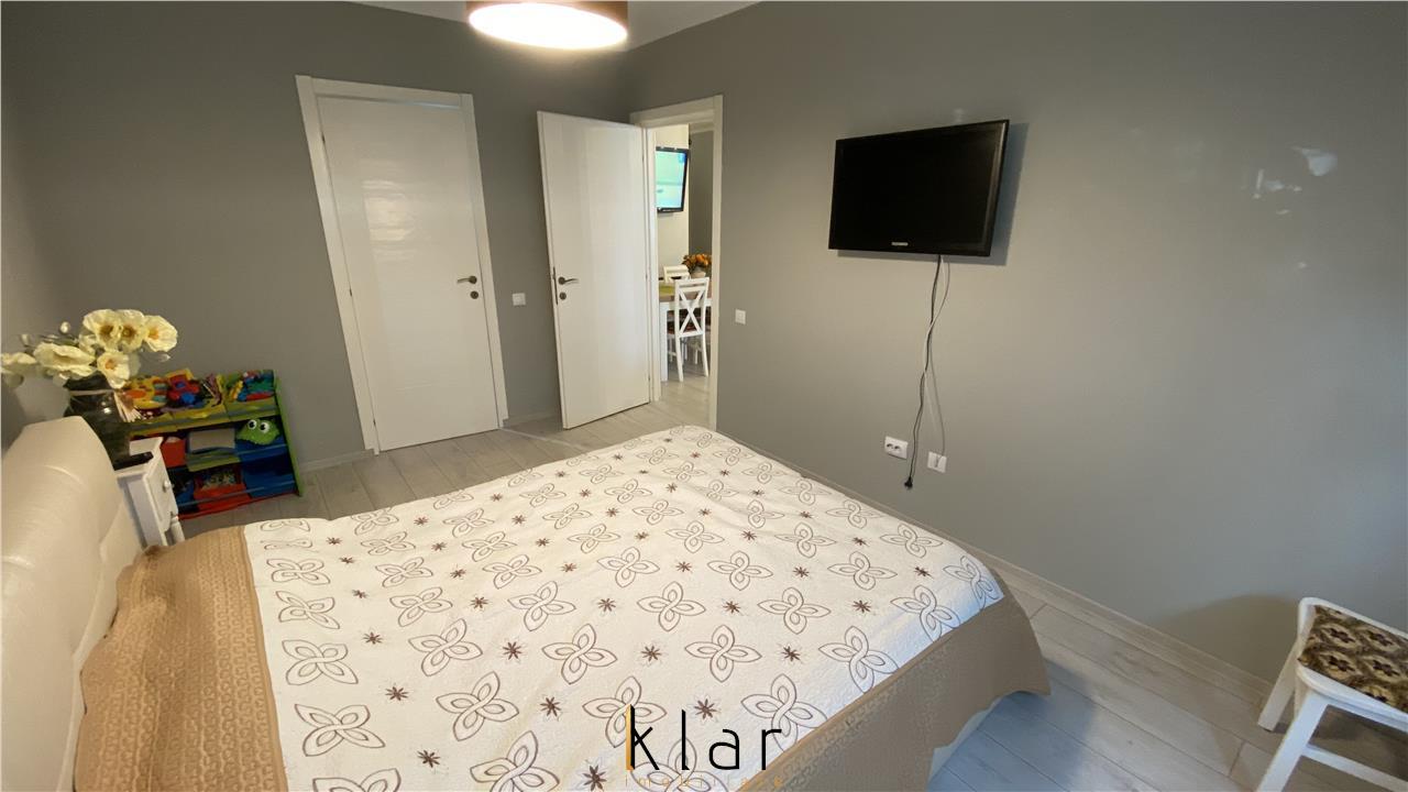 Apartament 2 camere cu gradina, loc de parcare, zona Porii