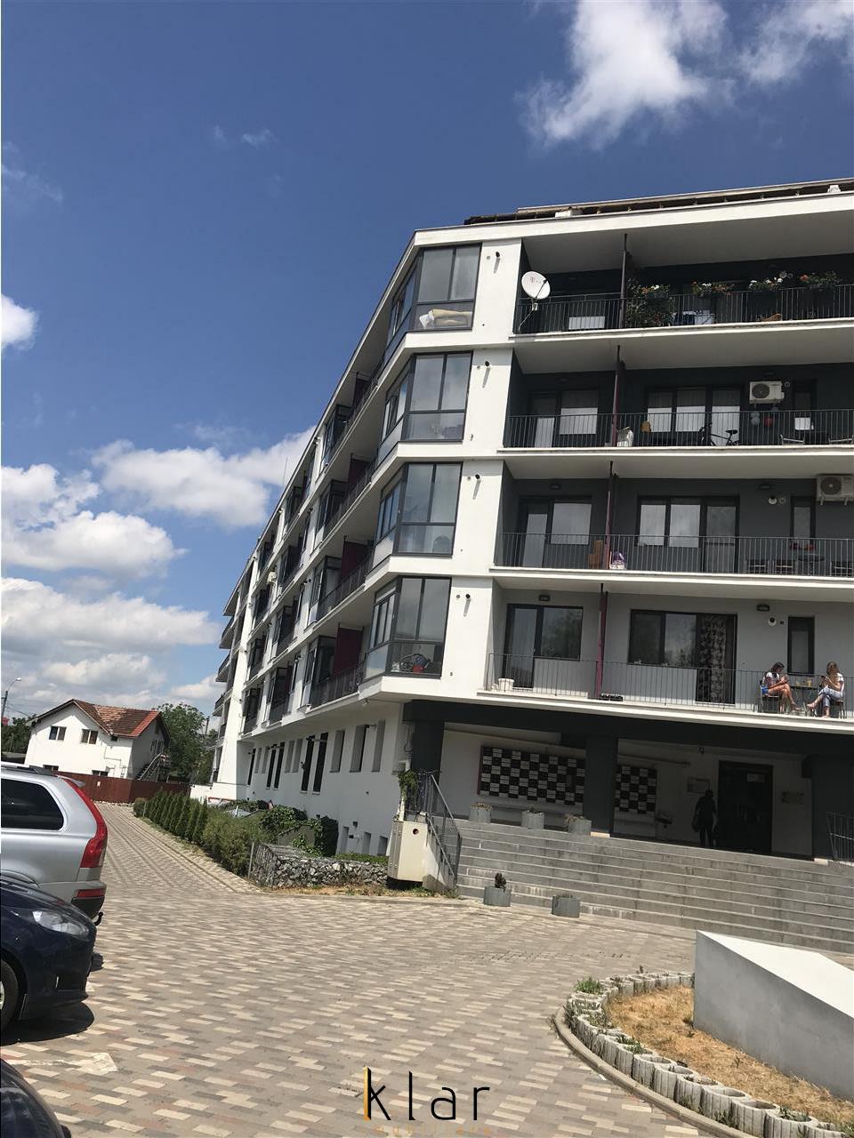 Vanzare doua camere cu gradina zona Kaufland bloc nou