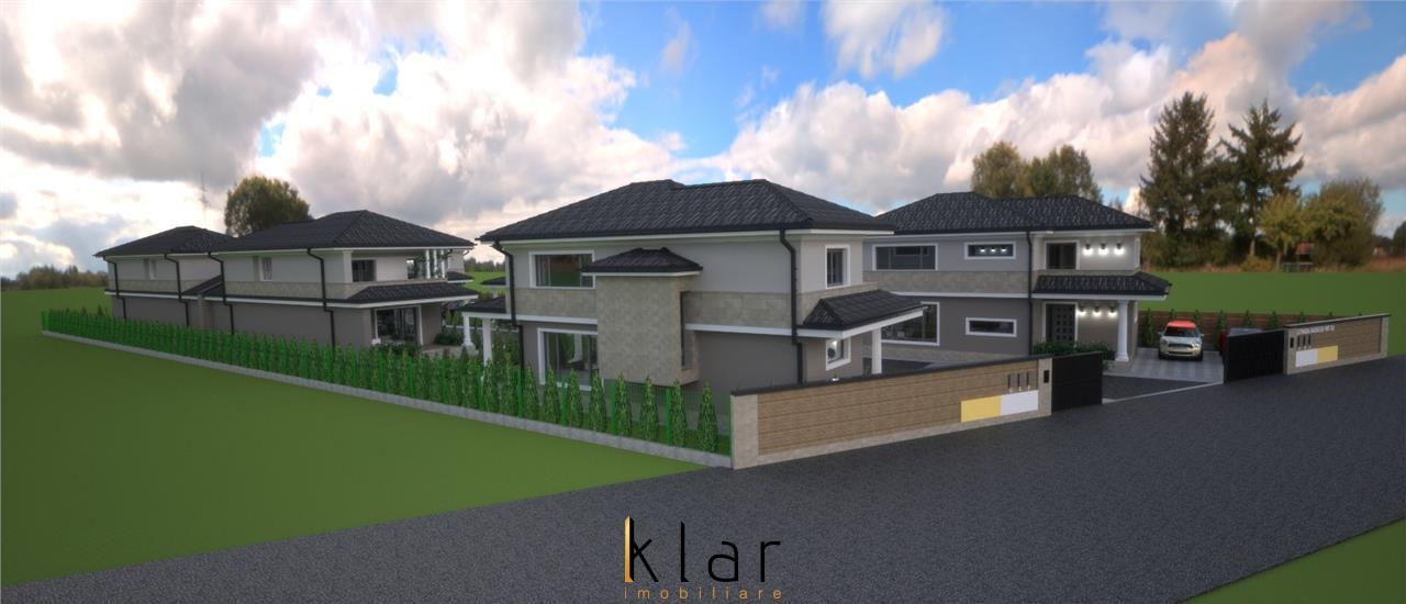 Casa individuala 120 mp utili,  cu curte libera de 200 mp !