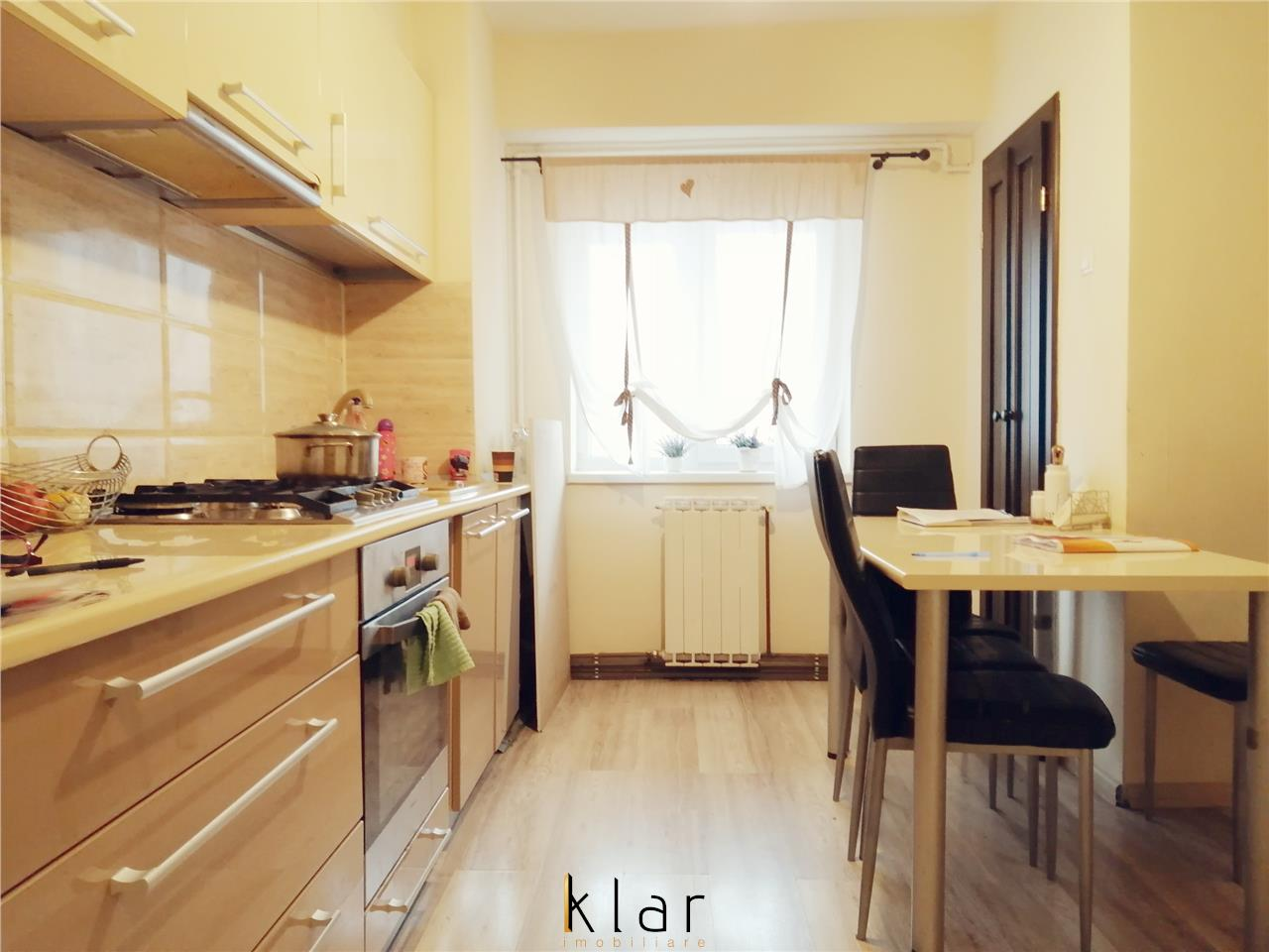Apartament 2 camere decomandat, confort marit, zona Iulius Mall!