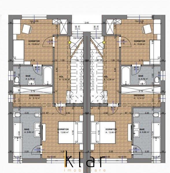 Duplex, constructie noua, concept arhitectural modern