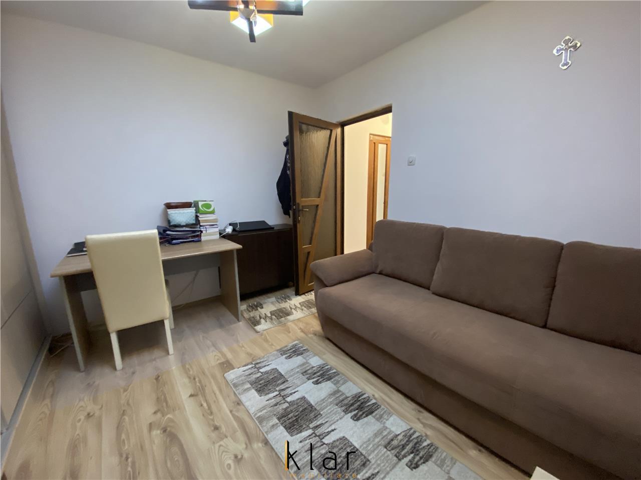 Apartament doua camere  mobilat,utilat Manastur zona linistita