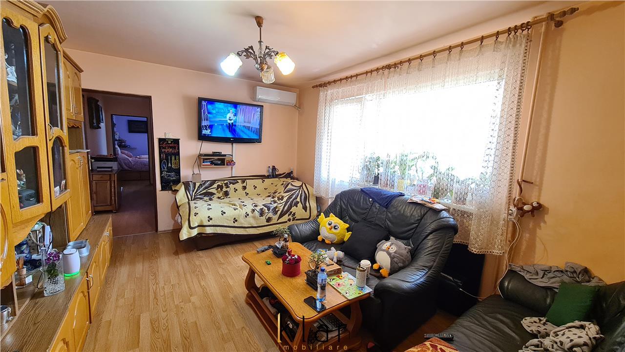 Apartament 3 camere, 65mp, balcon, parcare, Gheorgheni, zona Politia Rutiera