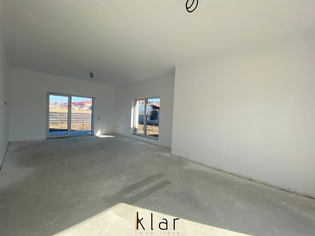 Casa individuala cu 3 dormitoare, living, dining room, bucatarie, 2 bai