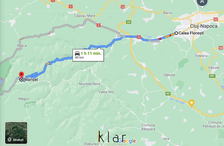 Teren intravilan in apropierea partiei de ski Marisel