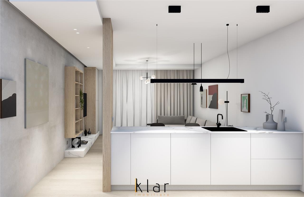 Apartament 3 camere la 10 minute de Teatru National bloc nou