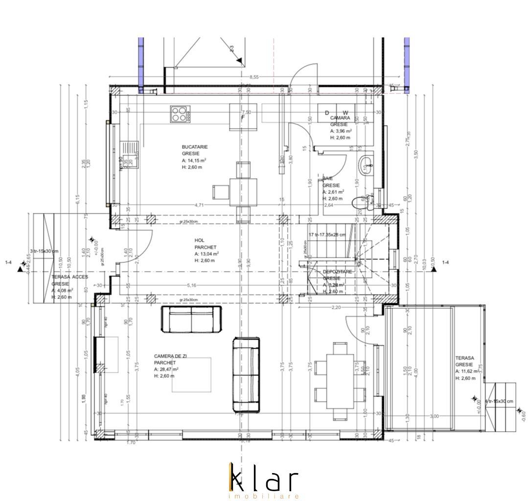 Casa individuala cu garaj