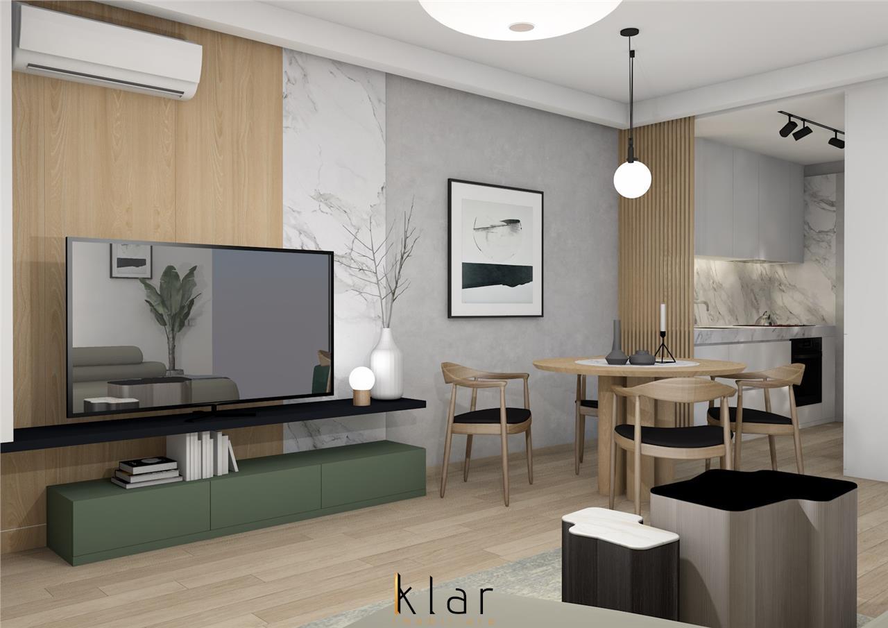 Apartament doua camere bloc nou  finalizat la limita  cartierului Andrei Muresanu cu Gheorgheni