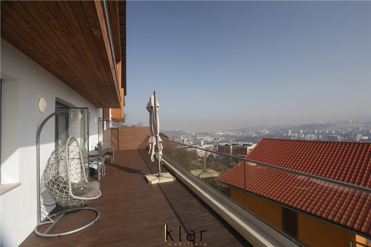 Duplex cu Finisaje de Lux si Panorama Superba in Grigorescu