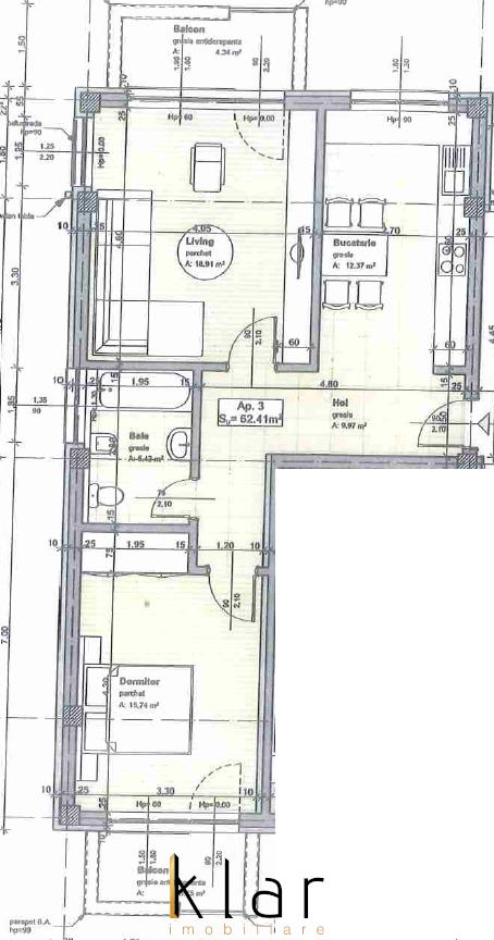 Comision 0%. Apartamente semifinisate, 2 camere, zona Stejarului