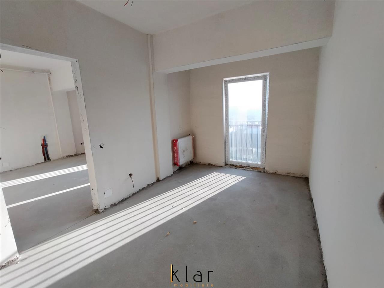 Apartament 2 camere semifinisat, bloc nou cu lift zona Balastierei
