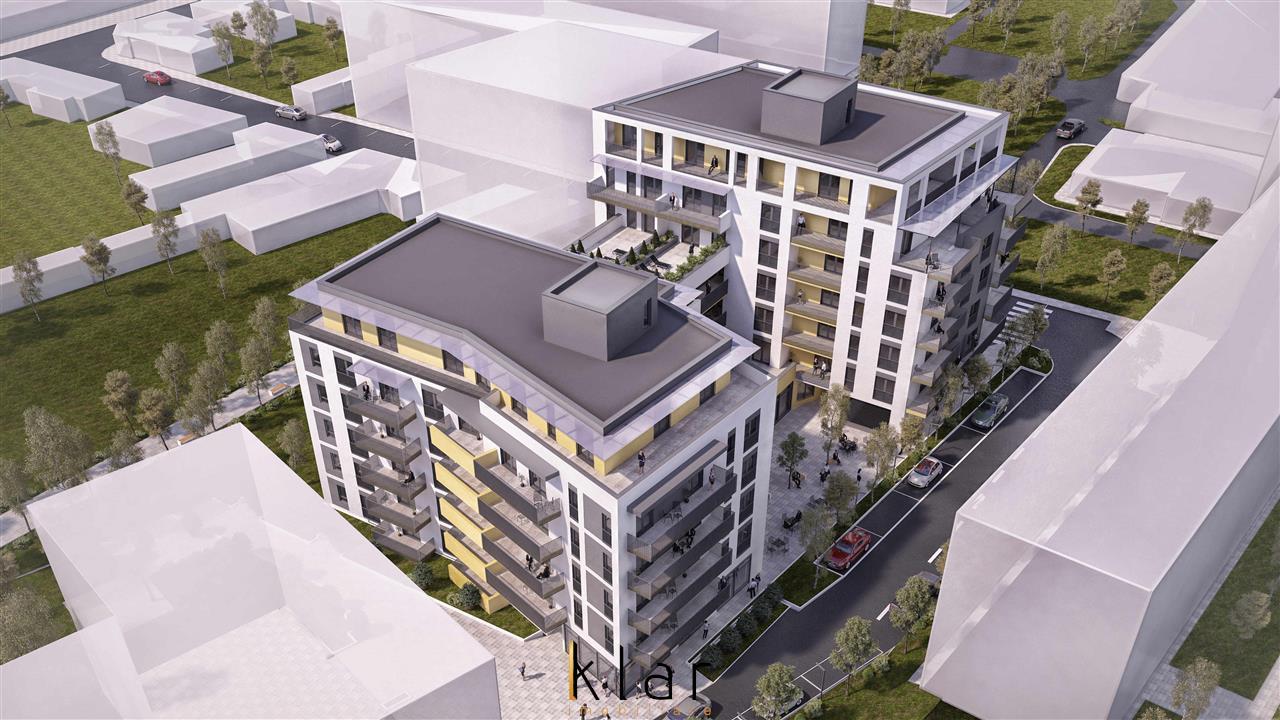 Apartament doua camere  centru bloc nou