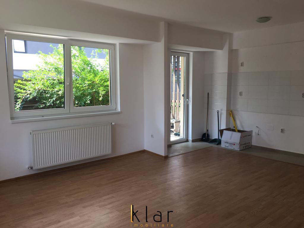 Apartament 2 Camere Finisat Cu Gradina in Bloc Nou