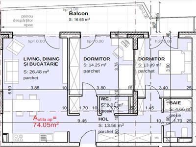 Apartament 3 camera Gheorgheni