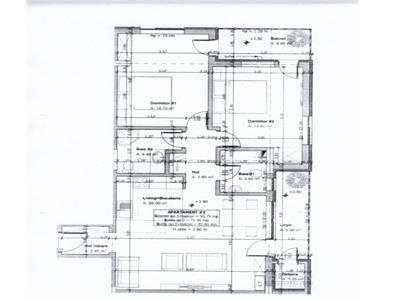 Apartament 3 camere semifinisat, zona Florilor, finalizare 2021