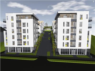 Apartament nou 2 camere 51.15mp, terasa 20.93 mp, proiect nou in Iris !!!