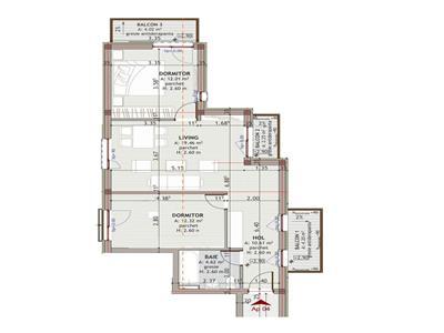 Apartament 3 Camere Zorilor Mobila Utilat