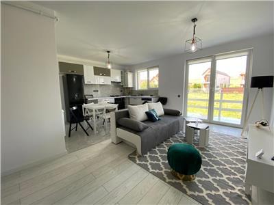 Apartament 2 camere, complet mobilat si utilat, cu gradina, zona Dumitru Mocanu