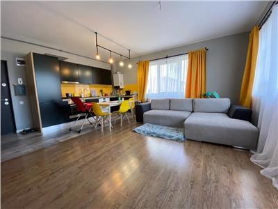 Apartament 3 camere, 2 bai, mobilat si utilat, cu boxa si gradina, zona Teilor