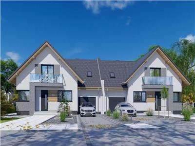 Casa tip duplex sat Gheorgheni, 11 km fata de Cluj !!!