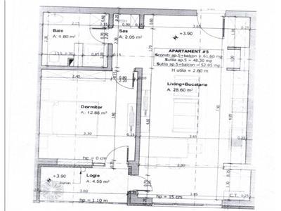 Comision 0! Apartament 2 camere, semifinisat, zona Florilor