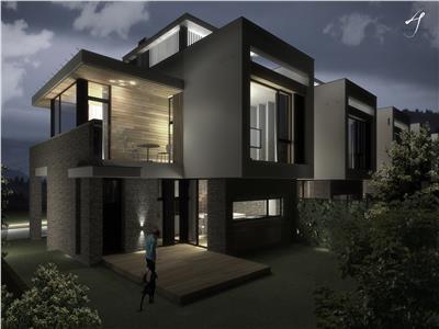 Comision 0% Casa superba cu 380 mp teren si terasa circulara cu priveliste deosebita spre oras