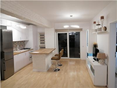 Apartament 2 camere semidecomandat, finisat mobilat modern, Marasti