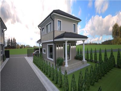 Casa individuala 4 camere in curte inchisa cu bariera la 107000 euro !