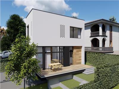 Casa individuala moderna cu panorama spre Cluj