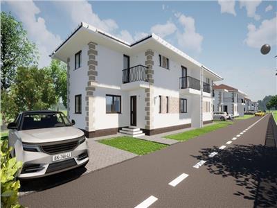 Duplex de vanzare pe strada principala Avram Iancu din Floresti!