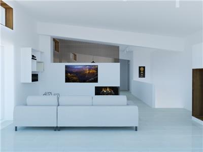 Casa de vanzare, finisaje moderne, cu loft si panorama