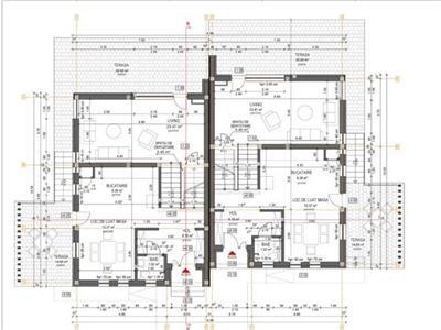 Duplex cu compartimentare functionala si panorama superba