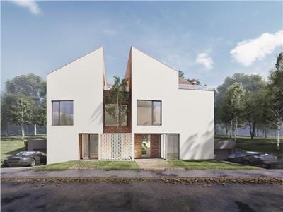 Duplex cu personalitate arhitecturala si accent pe calitatea superioara a materialelor