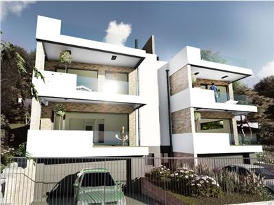 Duplex cu panorama  si terase generoase