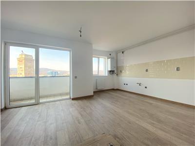 Apartament 2 camere finisat, bloc nou cu CF, Marasti!