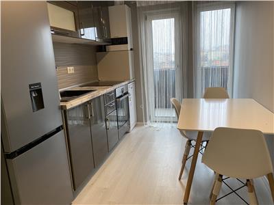 Apartament trei camere bloc nou mobilat utilat Marasti