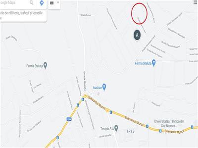 Teren intravilan cu PUZ in lucru in cartier Iris, Valea Fanatelor (650mp)