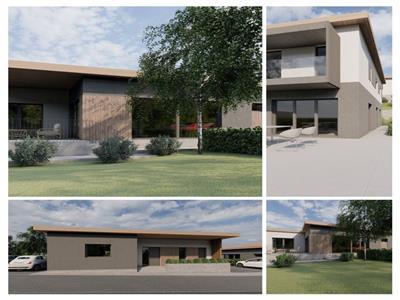 Teren cu Proiect autorizat pentru 3 case