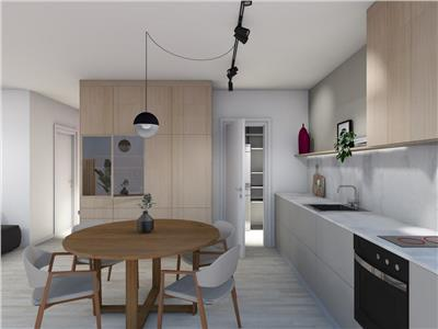 Apartament trei camere bloc nou   zona centrala in ansamblu  Record Parc  Comision 0%
