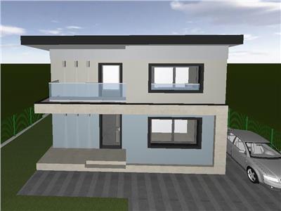 Casa individuala de vanzare 120 mp utili amplasat pe un teren de 500 mp!