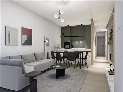 Apartament 3 camere  bloc nou finalizat Gheorgheni